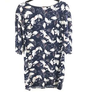 Old Navy Small Blue Bird Dress